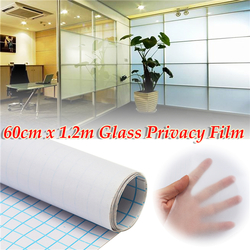 60cm 1.2M Frosted Window Tint Glass Privacy PVC Film For Home Office 1