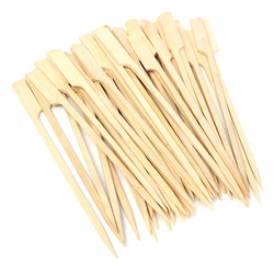 30Pcs 20cm BBQ Bamboo Skewers Wooden Grill Sticks Meat Food Long Skewers Barbecue Grill Tools 1