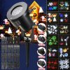 12Pattern Waterproof LED Moving Laser Projector Stage Light Christmas Halloween Lamp 2