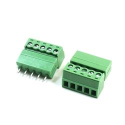 5pin Terminal Plug Type 300V 5.08mm Pitch Connector Screw Terminal Block 1