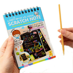 Fun Scratch Painting DIY Toy Big Blow Painting Children Educational Toys 1