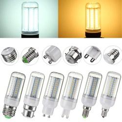 5W SMD4014 E27 E14 E12 G9 GU10 B22 LED Corn Light Bulb Lamp for Home Decor 1
