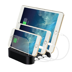 Multifunctional 3 USB-Port Universal Smart Charger Charging Dock for Mobile Phone 1