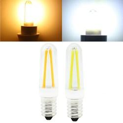 Mini Dimmable E14 4W COB LED Filament Lamp Light Bulb Replace Halogen Lamp AC110V/220V 1
