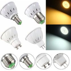 E27 E14 GU10 MR16 3.5W 27 SMD 5730 Non-Dimmable LED Warm White White Spot Lightt Lamp Bulb AC110/220V 1