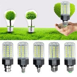 E27 E26 E12 E14 B22 12W 5730 SMD Non-Dimmable LED Corn Light Lamp Bulb AC110-265V 1
