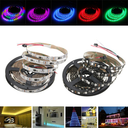 4M WS2811 IC SMD5050 Dream Color RGB Non-Waterproof LED Strip Light Individual Addressable DC12V 1