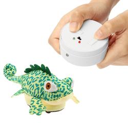 RC Remote Control Animal Plush Chameleon Pet Electric Infrared Sensor Simulation Tonic Gift 1