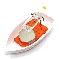 Amazing Heat Steam Candle Powered Speedboat Scientific Experimental Toys For Kids Children 1