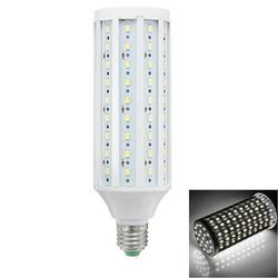 ZX E27 18W SMD5730 1500-2000LM Super Brightness Pure White LED Corn Light Bulb AC/DC12-60V 1