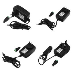 AC85-265V to DC12V 2A 24W Power Supply Adapter with Switch for LED Strip Light 1