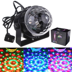 ARILUX?® 5W Mini RGB LED Party Disco Club Light Crystal Magic Ball Effect Stage Light for Christmas 1
