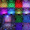 ARILUX?® 5W Mini RGB LED Party Disco Club Light Crystal Magic Ball Effect Stage Light for Christmas 5