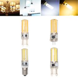 E14 G4 G9 4W COB2508 Dimmable Warm White Pure White LED Corn Light Bulb AC220-240V 1