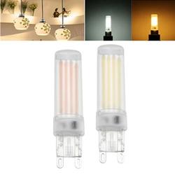 G9 2W 3W 4LEDs Transparent Shade Warm White Pure White Light Bulb AC220V 1