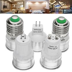 E27 GU53 GU10 MR11(AC/DC12V) 2W Warm White Pure White Spot Lightt Bulb AC85-265V 1