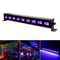 9x3W UV Purple LED Light Wall Lamp Washer UK/EU Plug for Bar DJ Party Club Home Decor AC100-240V 1