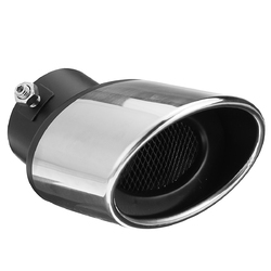 63MM Stainless Steel Car Tip End Trim Tailpipe Stainless Steel Muffler Exhaust For Car Auto 1