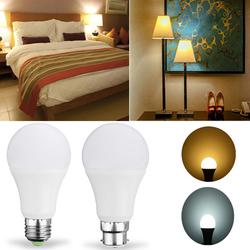 E27 B22 7W SMD5730 Warm White Pure White LED Light Control Bulb No Flicker AC85-265V 1