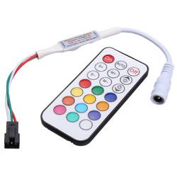 21 Keys LED Mini Dream Color IR Controller for WS2812 WS2812B WS2811 Strip Light DC5-24V 1