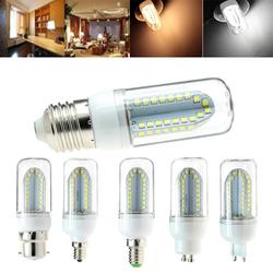 E27 B22 E14 E12 G9 GU10 5W 500LM SMD2835 84LEDs Warm White Pure White Corn Light Bulb AC85-265V 1