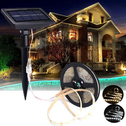 5M SMD2835 Waterproof Solar Powered LED Strip Light for Christmas Outdoor Garden Decor DC12V Christmas Decorations Clearance Christmas Lights 1