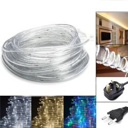 20M SMD3014 Waterproof Flexible 320LEDs Tape Ribbon Strip Light Colorful Warm White White AC220V 1