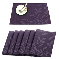 Washable Placemat for Dining Table Creative Heat Insulation Stain Resistant Anti-skid Eat Mats 1