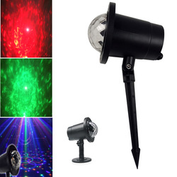6W RGBW LED Crystal Ball Lawn Stage Light Waterproof Outdoor Garden for Chrismas AC100-240V 1