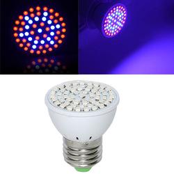 Full Spectrum E27 3W 60 LED Grow Light 41 Red 19 Blue For Plant Hydroponics AC220V 1