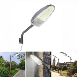 30W Light Control LED Road Street Light for Outdoor Garden Spot Security AC85-265V 1