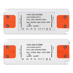 AC220-240C to DC12V/DC24V 20W Power Supply Lighting Transformer LED Driver for Strip Light 1