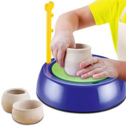 Mini DIY Ceramic Pottery Machine Pottery Wheels Kids Arts Craft Educational Gift 1