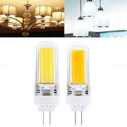 G4 3W COB2609 Dimmable Warm White Pure White LED Corn Light Bulb AC220V 1