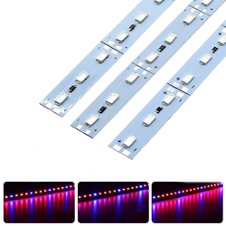 10PCS 50CM SMD5630 Red:Blue 3:1 /4:1 /5:1 LED Grow Rigid Bar Strip for Hydroponics Greenhouse DC12V 1