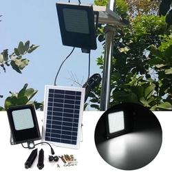 Solar Powered 120 LED PIR Motion & Light Sensor Flood Light Waterproof Outdoor Garden Security Lamp 1