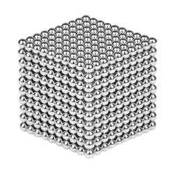 1000PCS Per Lot 5mm Magnetic Buck Ball Magnet Silver Intelligent Stress Reliever Toys Gift 1