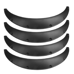 4Pcs 2.75 Inch Universal Flexible Car Flares Extra Wide Body Wheel Arches 1