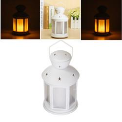 Portable RGB Colorful Lantern LED Table Light Battery Powered Flame-Shaped 3D decor Lamp 1