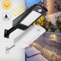 Solar powered Motion Sensor 48 LED Street Light Waterproof Adujustable Wall Lamp for Outdoor Garden 1