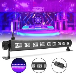 27W 385NM UV Auto Color Changing LED Stage Light for Bar Disco Party Club Christmas 1