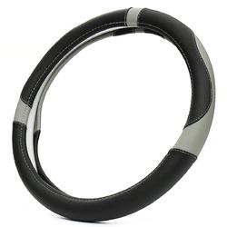 Universal 38cm Anti-Slip 4 Colors Sport Leather Car Steering Wheel Covers 1