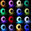 E27 12W RGB LED Light Bulb Lamp bluetooth Remote Control Music Speaker Play AC85-265V 3