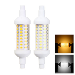 6W R7S 2835 SMD Non-dimmable LED Flood Light Replaces Halogen Lamp Ceramics High Bright AC220-265V 1