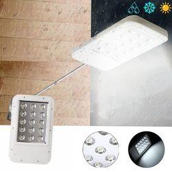 Ultrathin Solar Power 15 LED Light-controlled Wall Street Light Waterproof Outdoor Garden Lamp 1
