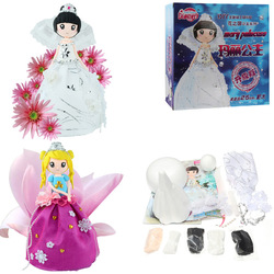 DIY Clay Doll Figures With Manual Soft Ultralight Non-Toxic Modelling Clay Gift Decor 1