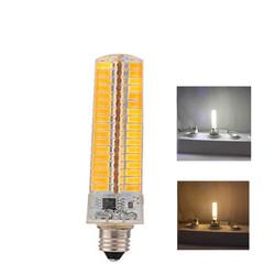 E11 7W Dimmable SMD5730 Warm White Pure White 136LEDs Corn Light Bulb AC110/220V 1