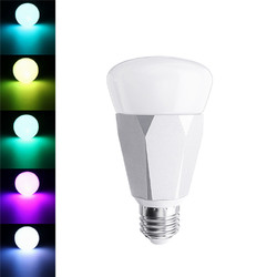 E27 7W 5730 SMD RGBW WiFi Timing Function Smart Light Bulb Work with Alexa Google Home AC85-265V 1