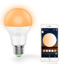 E27 7.5W Warm White Cool White Smart Wifi LED Light Bulb Work with Alexa Google Home AC100-264V 1