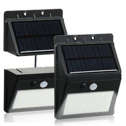 Waterproof 28 LED Solar PIR Motion Sensor Security Lamp Separable Wall Light for Outdoor Garden Yard 1